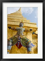 Framed Grand Palace, Upper Terrace monuments, Bangkok, Thailand