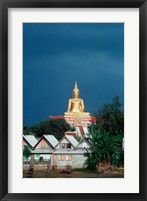 Framed Big Buddha Buddhist Temple, Thailand
