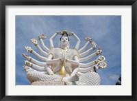 Framed Thailand, Ko Samui, Wat Plai Laem, Kwan Yin