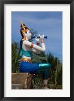 Framed Thailand, Ko Samui, Thai goddess statue