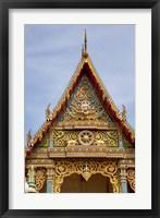 Framed Thailand, Ko Samui, Wat Plai Laem, Temple