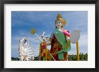 Framed Wat Plai Laem, Ko Samui, Thailand