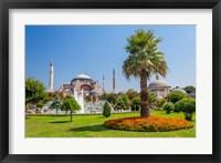 Framed Hagia Sophia, Istanbul, Turkey