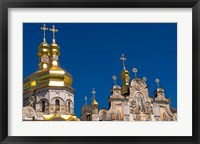 Framed Perchersk Lavra Church, Kiev, Ukraine