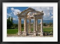 Framed Roman Archaeological Site, Aphrodisias, Turkey