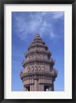 Framed Phnom Penh, Cambodia