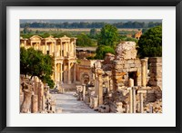 Framed Street of Curetes, Celsus Library, Ephesus, Turkey