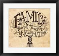 Framed Family - Always and Forever
