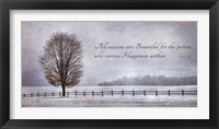 Framed Happiness Within