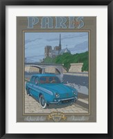 Paris 1963, Dauphine Framed Print