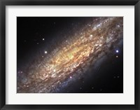 Framed Core of NGC 253, the Sculptor Galaxy