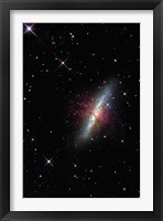 Framed Cigar Galaxy