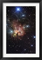 Framed Northern Trifid Nebula