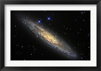 Framed Sculptor Galaxy
