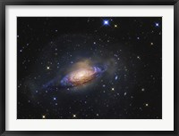 Framed Spiral Galaxy in the Constellation Leo