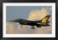 Framed Solo Turk F-16 of the Turkish Air Force