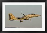 Framed Israeli Air Force F-15I Ra'am