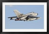 Framed Italian Air Force Panavia Tornado ECR
