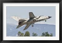 Framed Italian Air Force Panavia Tornado