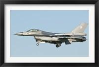 Framed Dutch F-16 aircraft