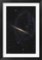 Framed Splinter Galaxy, Also Known as NGC 5907