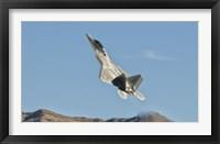 Framed US Air Force F-22 Raptor, Nellis Air Force Base, Nevada