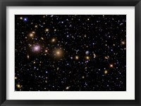 Framed Perseus Galaxy Cluster