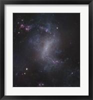Framed Starburst Galaxy