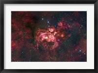 Framed Emission Nebula Located in the Constellation Scorpius (NGC 6357)