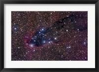 Framed Dark Tower, Cometary Globule in Scorpius