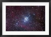 Framed Open Cluster in Carina
