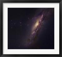 Framed Polar Ring Galaxy in Pisces
