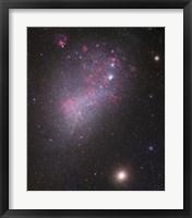 Framed Small Magellanic Cloud (close up)