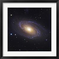 Framed Bodes Galaxy, a Spiral Galaxy in Ursa Major
