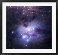 Framed Reflection Nebula Northeast of the Orion Nebula