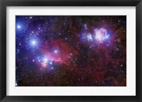 Framed Belt Stars of Orion