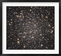 Framed Globular cluster M22 in the constellation Sagittarius
