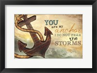 You Are My Anchor Framed Print
