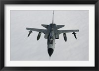 Framed Luftwaffe Tornado IDS over northern Germany (front view)