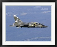 Framed Mirage F1CR of the French Air Force over France