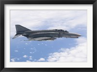 Framed Luftwaffe F-4F Phantom