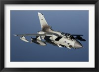 Framed Panavia Tornado GR4 of the Royal Air Force