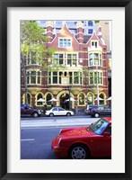 Framed Collins Street, Melbourne, Victoria, Australia