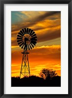 Framed Windmill, Oodnadatta Track, Outback, Australia