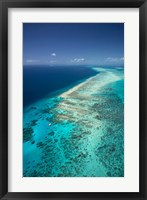 Framed Yacht, Great Barrier Reef, North Queensland, Australia