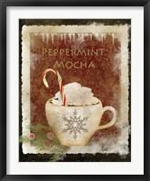 Peppermint Mocha Framed Print