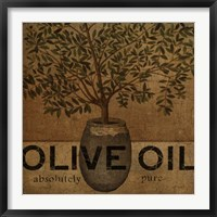 Framed Olive Oil