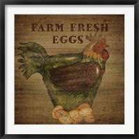 Farm Fresh Eggs Framed Print