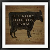 Hickory Hollow Farm Framed Print