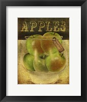 Grannysmith Apples Framed Print